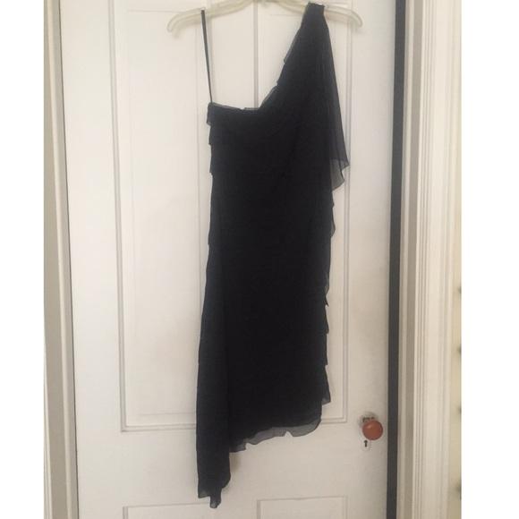 BCBG Dresses & Skirts - BCBG One-Shoulder Cocktail Dress